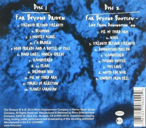 Pantera - Far Beyond Driven (20th Ann. 2CD w. Full Live Show From Donington 94) - CD - New