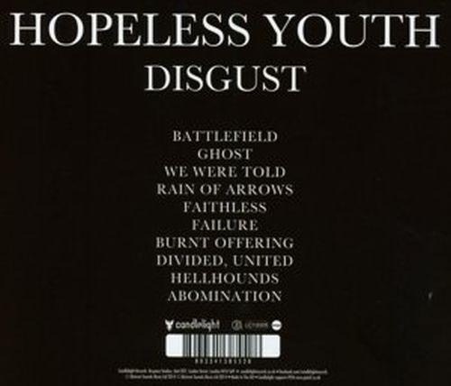 Hopeless Youth - Disgust (U.S.) - CD - New
