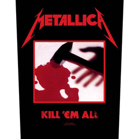 Metallica - Kill Em All - Sew-On Back Patch