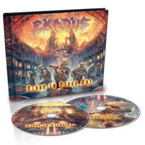 Exodus - Blood In Blood Out (Deluxe Ed. CD/DVD) - CD - New