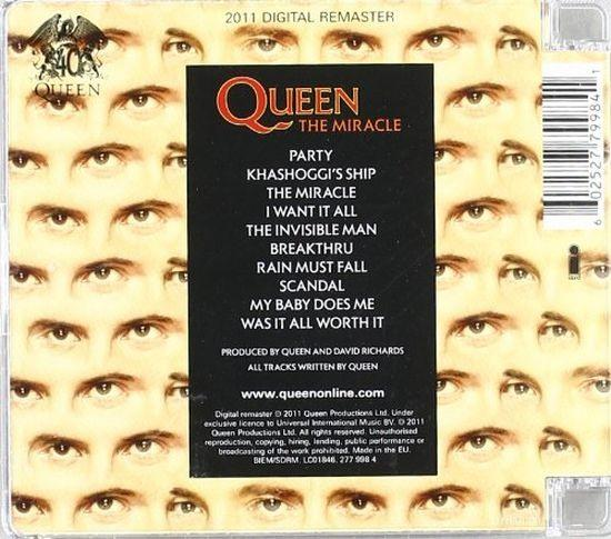 Queen - Miracle, The (2011 rem.) - CD - New