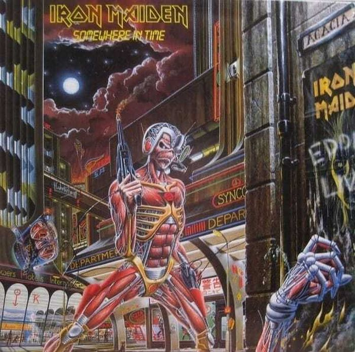 Iron Maiden - Somewhere In Time (180g 2014 reissue) (Euro.) - Vinyl - New