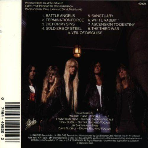 Sanctuary - Refuge Denied - CD - New