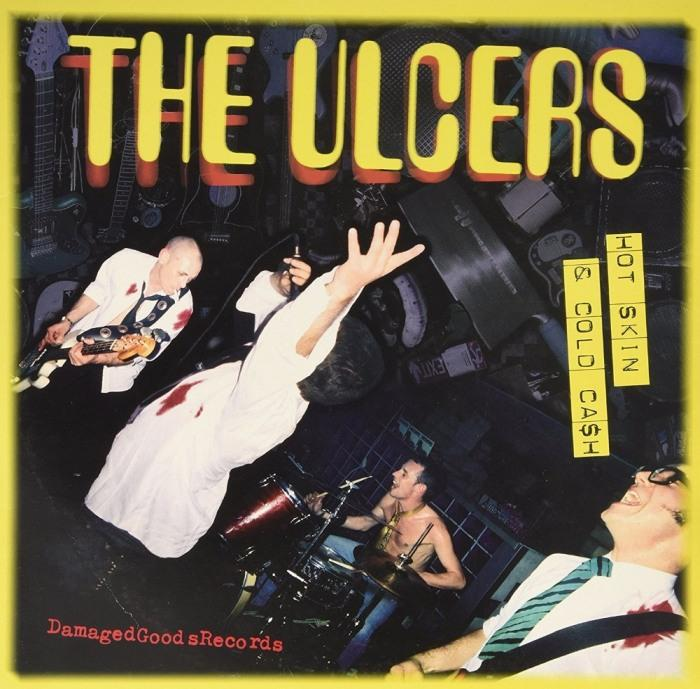 Ulcers - Hot Skin And Cold Cash (yellow splatter vinyl) - Vinyl - New