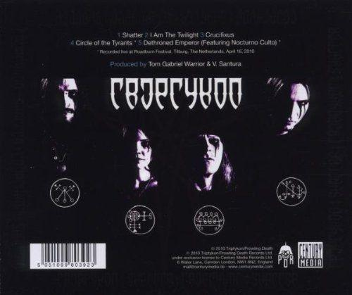 Triptykon - Shatter - Eparistera Daimones Accompanied (Euro.) - CD - New