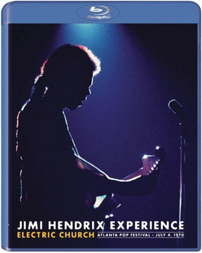 Hendrix, Jimi - Electric Church - Atlanta Pop Festival - July 4, 1970 (RA/B/C) - Blu-Ray - Music