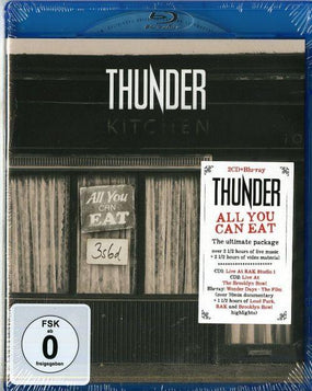 Thunder - All You Can Eat (Blu-Ray/2CD) (RA/B/C) - Blu-Ray - Music