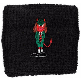 ACDC - Sweat Towelling Embroided Wristband (Angus)