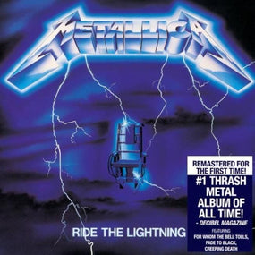 Metallica - Ride The Lightning (2016 rem.) (U.S.) - CD - New