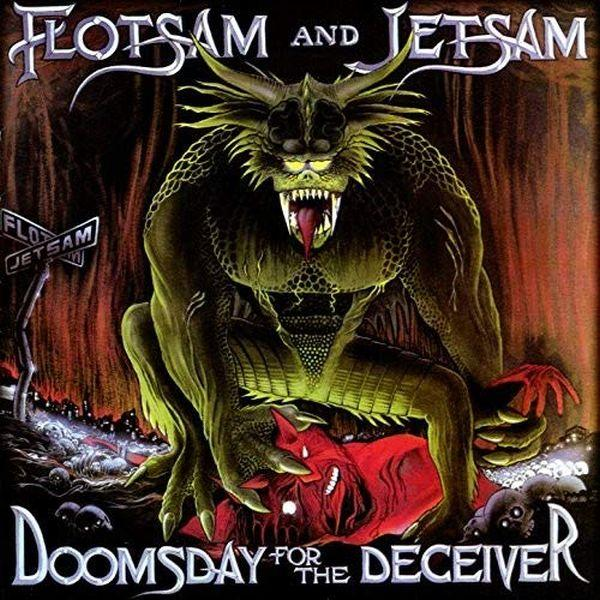 Flotsam And Jetsam - Doomsday For The Deceiver (20th Ann. Ed. 2LP gatefold w. bonus tracks) - Vinyl - New