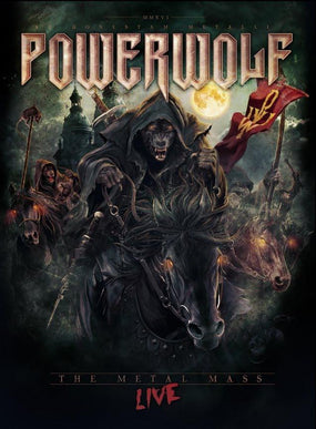 Powerwolf - Metal Mass, The - Live (2DVD/CD) (R0) - DVD - Music