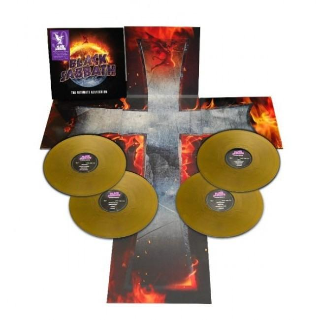 Black Sabbath - Ultimate Collection, The (Ltd. Ed. 50th Ann. 4LP Gold Vinyl box set) - Vinyl - New
