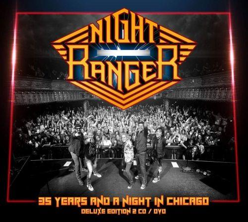 Night Ranger - 35 Years And A Night In Chicago (Deluxe Ed. 2CD/DVD) (R0) - CD - New