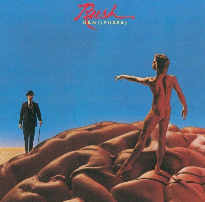 Rush - Hemispheres (180g gatefold w. download card) - Vinyl - New