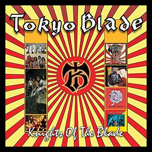 Tokyo Blade - Knights Of The Blade (Tokyo Blade/Night Of The Blade/Blackhearts And Jaded Spades/Singles And EPs) (4CD box) - CD - New