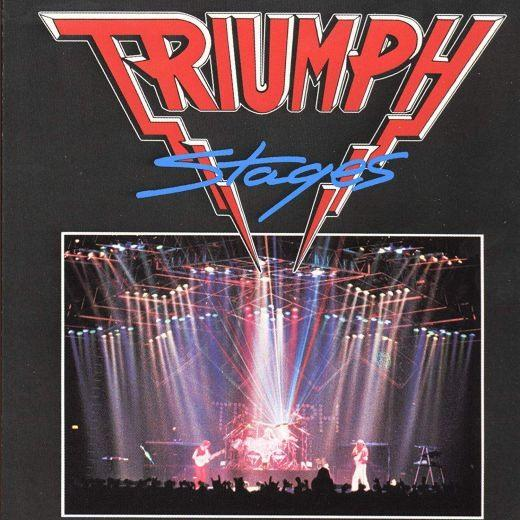 Triumph - Stages - CD - New
