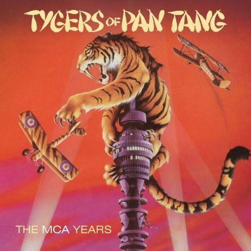 Tygers Of Pan Tang - MCA Years, The (Wild Cat/Spellbound/Crazy Nights/The Cage/At The BBC) (5CD) - CD - New