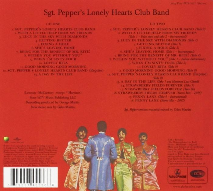 Beatles - Sgt. Peppers Lonely Hearts Club Band (50th Ann. Deluxe Ed. 2CD - New Stereo Mix + Session Tracks) - CD - New