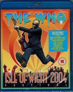 Who - Live At The Isle Of Wight 2004 Festival (RA/B/C) - Blu-Ray - Music