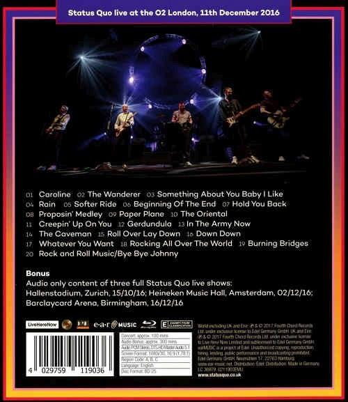 Status Quo - Last Night Of The Electrics, The (RA/B/C) - Blu-Ray - Music