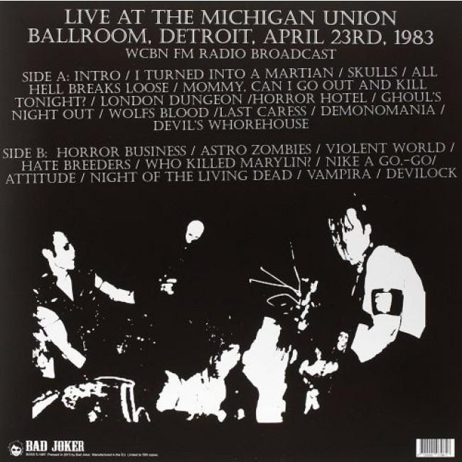Misfits - Walk Among You (Live Michigan Union Ballroom Detroit 1983 WCBN FM Radio Broadcast) - Vinyl - New