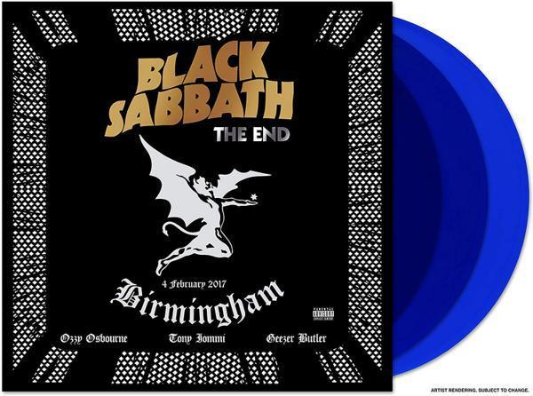 Black Sabbath - End, The (Live) (Ltd. Ed. 180g 3LP Blue Vinyl gatefold) - Vinyl - New