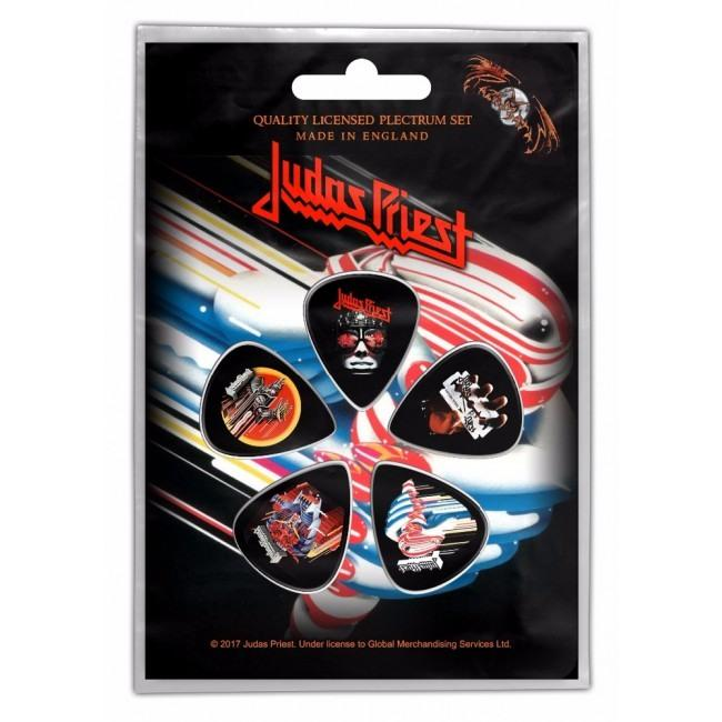Judas Priest - 5 x Guitar Picks Plectrum Pack (Turbo)