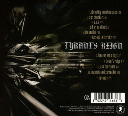 Tyrants Reign - Fragments Of Time - CD - New
