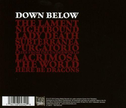 Tribulation - Down Below - CD - New