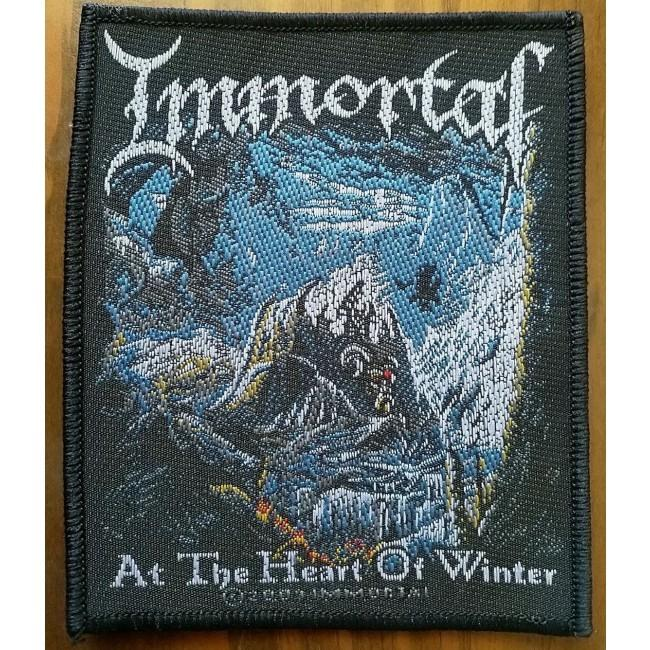 Immortal - At The Heart Of Winter Sew-On Patch