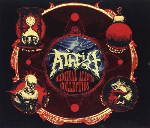 Atheist - Original Album Collection (Piece Of Time/Unquestionable Presence/Elements/Jupiter) (4CD) - CD - New