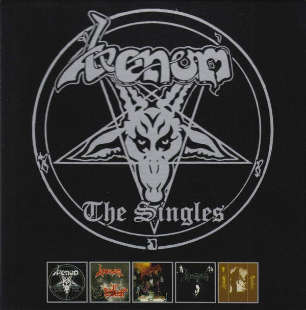 Venom - Singles, The (In League With Satan/Bloodlust/Die Hard/Warhead/Manitou) (5CD box) - CD - New