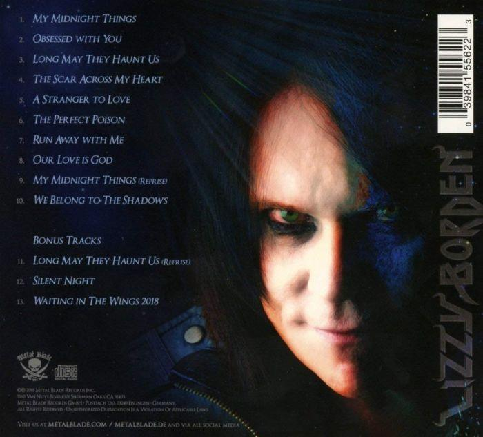 Lizzy Borden - My Midnight Things (Ltd. Ed. digi. w. 3 bonus tracks) - CD - New