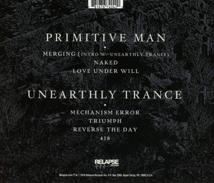 Primitive Man/Unearthly Trance - Split - CD - New