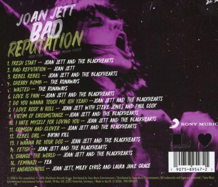 Jett, Joan - Bad Reputation - Music From The Original Motion Picture (O.S.T.) - CD - New