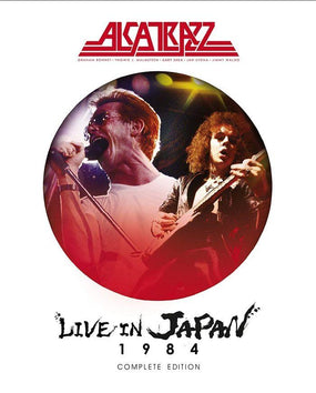 Alcatrazz - Live In Japan 1984 (Complete Ed. Blu-Ray/2CD) (RA/B/C) - Blu-Ray - Music