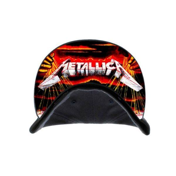 Metallica - Premium Cap - Master Of Puppets Silver Embroidered Logo