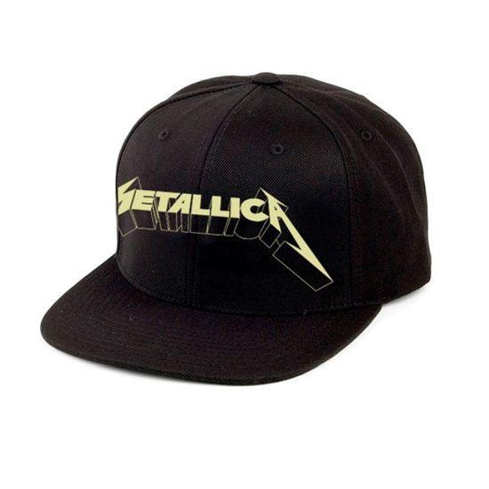 Metallica - Premium Cap - Justice Glow-In-The-Dark Logo