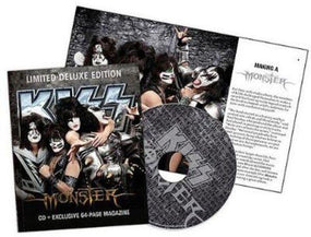 Kiss - Monster (Ltd. Deluxe Ed. w. exclusive 64 pg magazine) - CD - New