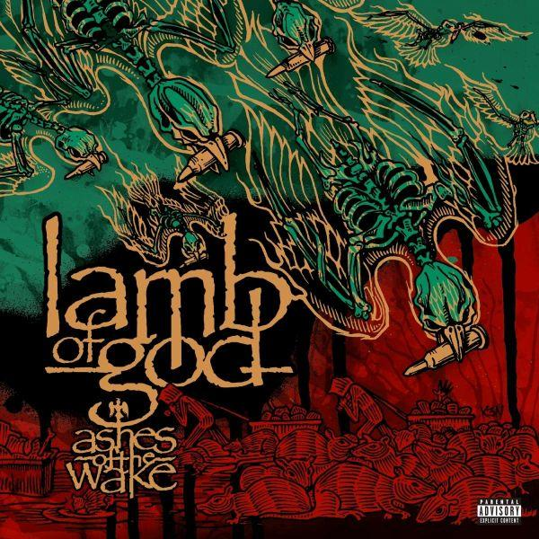 Lamb Of God - Ashes Of The Wake (15th Ann. 180g 2LP 2019 reissue w. 4 bonus tracks + download card) - Vinyl - New