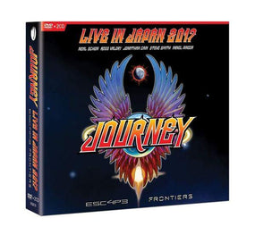 Journey - Live In Japan 2017 - Escape/Frontiers (2CD/DVD) (R0) - CD - New
