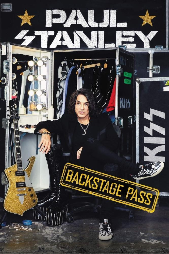 Stanley, Paul - Backstage Pass (HC) - Book - New
