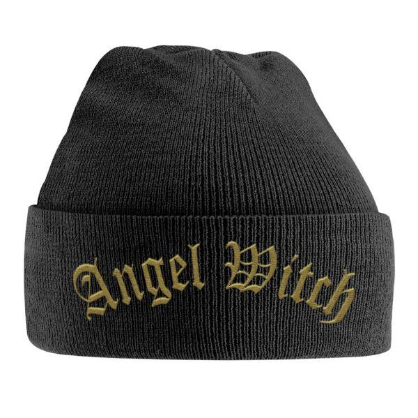 Angel Witch - Knit Beanie - Embroidered - Logo