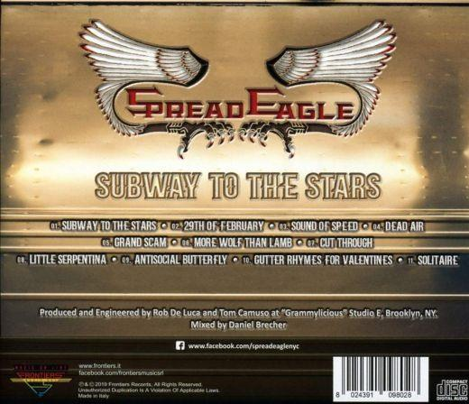 Spread Eagle - Subway To The Stars - CD - New