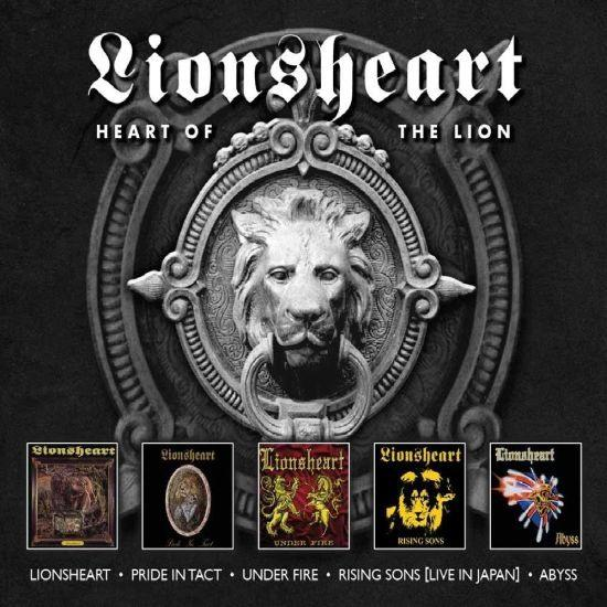 Lionsheart - Heart Of The Lion (Lionsheart/Pride In Tact/Under Fire/Rising Sons/Abyss) (5CD) - CD - New