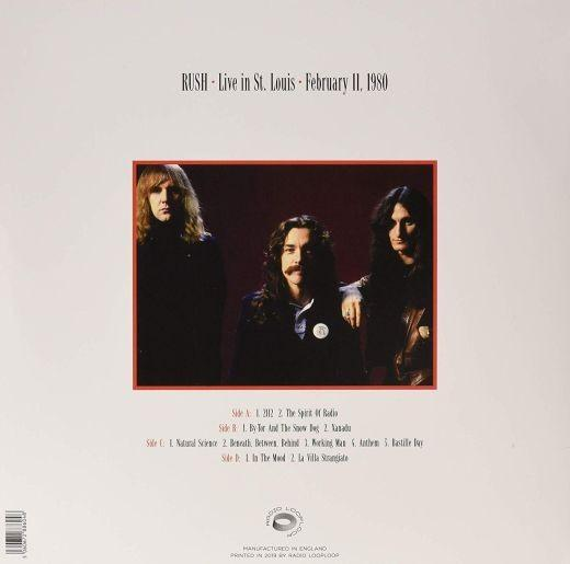 Rush - Live In St. Louis 1980 (2LP) - Vinyl - New