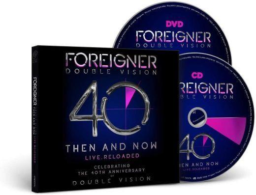 Foreigner - Double Vision - Then And Now - Live.Reloaded (CD/DVD) (R0) - CD - New