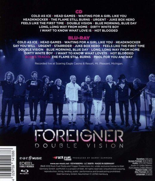 Foreigner - Double Vision - Then And Now - Live.Reloaded (Blu-Ray/CD) (RA/B/C) - Blu-Ray - Music