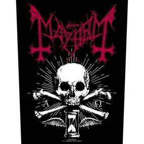 Mayhem - Alpha Omega Daemon - Sew-On Back Patch