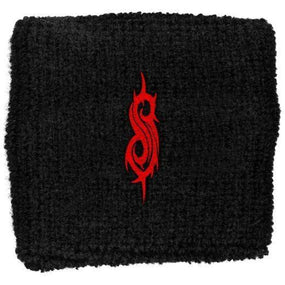 Slipknot - Sweat Towelling Embroided Wristband (Tribal S Logo)